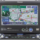 "Pioneer AVIC-N2 DVDCDnavigation receiver with 6.5"" monitor"
