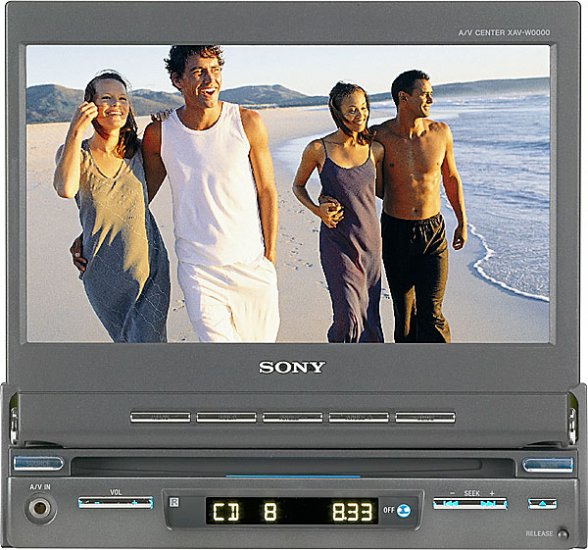 Sony XAVA1 In-Dash 7 inch Motorized Touchscreen DVDMP3 player