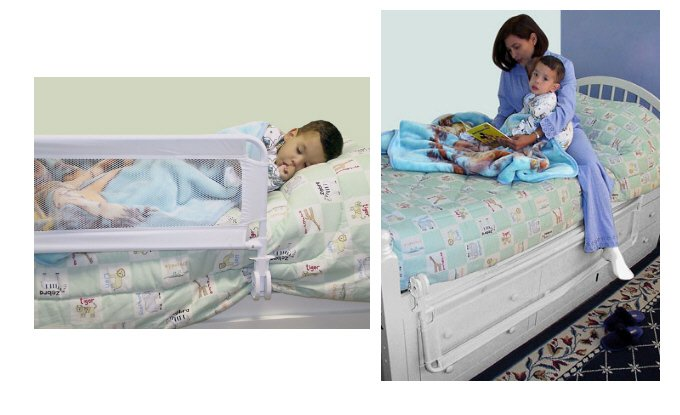 "Giovanni Rizzo - 41"" Bed Safety Rail"