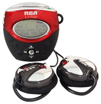 RCA Lyra RD1090 256MB Personal Digital MP3 Player + FM Tuner
