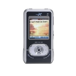 "Wave X 256MB MP3 Player with JPEG Viewable 1.5"" CSTN Screen"