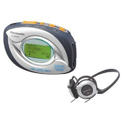 Panasonic Shockwave SV-SW20S - 128 MB radio  digital player