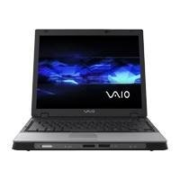 Sony VAIO Pentium M 740 1.73GHz DVD RW Wireless Notebook