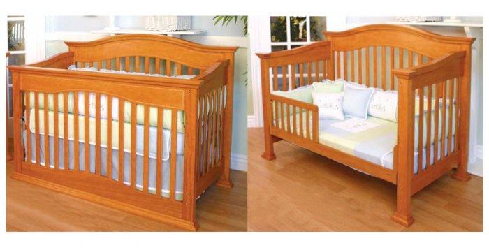 Giovanni Rizzo - Sunset Oak Convertible Crib MSRP $799.99