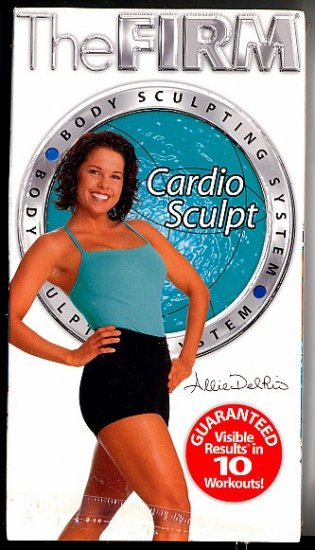 FIRM Cardio Sculpt Aerobic Exercise Workout Video VHS