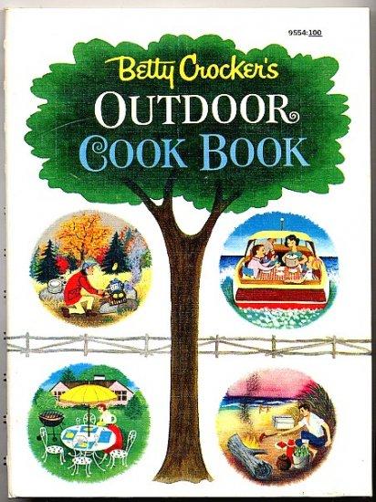 Betty Crocker's Outdoor Cook Book Vintage 1961 Crocker