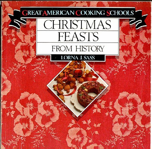 Christmas Feasts from History Cookbook New York Metropolitan Museum of Art 1981 vintage