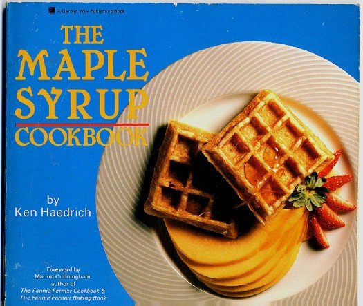 Maple Syrup Cookbook Haedrich 1988 sc