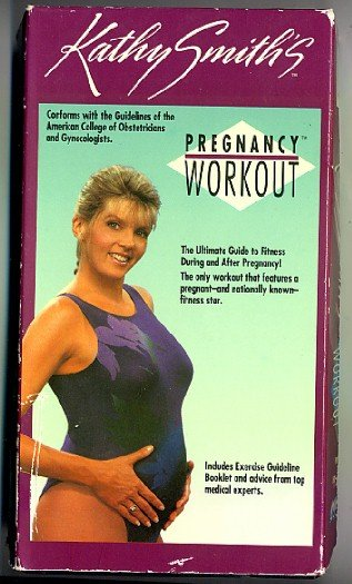Kathy Smith Pregnancy Workout VHS Exercise Tape