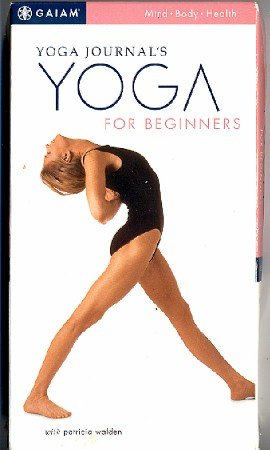 Yoga Journal Yoga For Beginners Video Exercise VHS