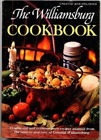 Williamsburg Cookbook Traditional & Contemporary Recipes Letha Booth softcover