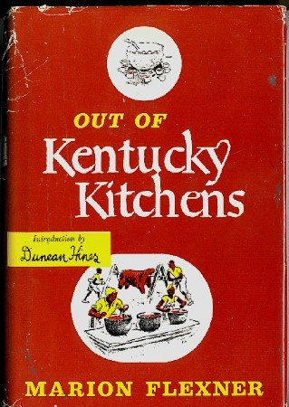 Out Of Kentucky Kitchens Cookbook Vintage 1949 Southern Recipes hc+dj