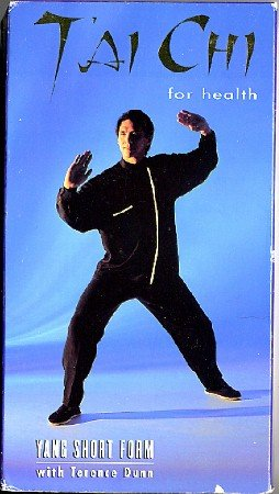 T'ai Chi for Health Yang Short Form Terence Dunn VHS Exercise Video