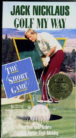 Jack Nicklaus GOLF My Way VHS The Short Game NEW Instructional Film