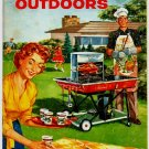 Let's Cook Outdoors, Sears Roebuck Advertising Cookbook Booklet, 1959