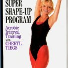 Sports Illustrated Super Shape Up Program Cheryl Tiegs Aerobic Interval Training Workout Video VHS