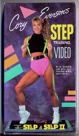 Cory Everson's Step Training Video Aerobic Exercise VHS Tape