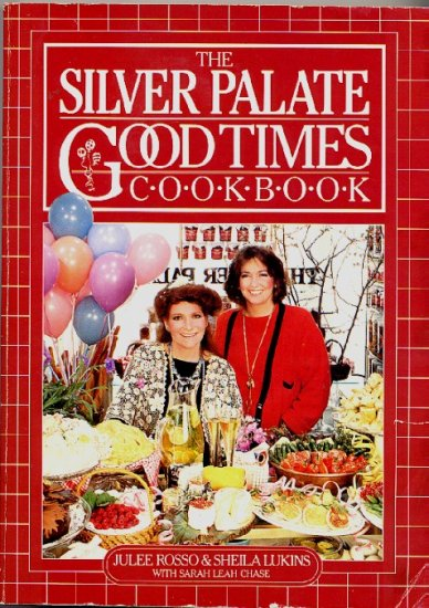 Silver Palate Good Times Cookbook Rosso Lukins Exc Cond