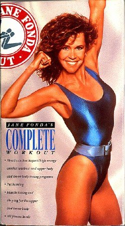 Jane Fonda Complete Workout VHS fitness aerobic exercise video Twist & Shout!