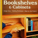 Sunset Bookshelves and Cabinets How to Build Wood Shelves Book
