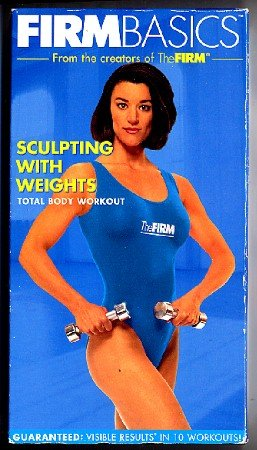 FIRM Basics Sculpting with Weights Total Body Workout Aerobic Exercise Video VHS