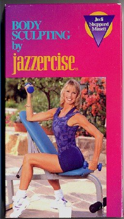 Body Sculpting by Jazzercise Judi Sheppard Missett VHS Vintage Exercise Video Tape