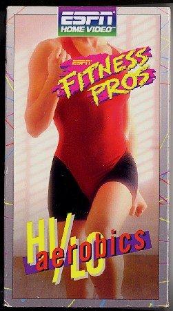 ESPN Fitness Pros Hi Lo Aerobics Workout Exercise VHS Video Tape Richardson Greco more