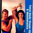 Tony Little Target Training Total Body Shape Up & Maintenance Exercise Video VHS New!