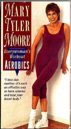 Mary Tyler Moore Everywoman's Workout Aerobics VHS Video Exercise Tape