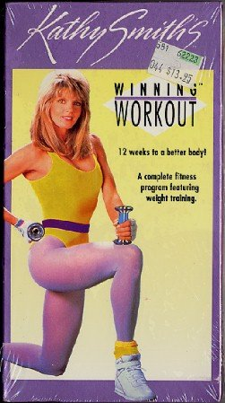Kathy Smith Winning Workout Exercise Video Tape VHS Aerobics Weight Training