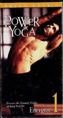 Bryan Kest Power Yoga Beginner Level 1 Energize VHS Ashtanga Exercise Video Tape