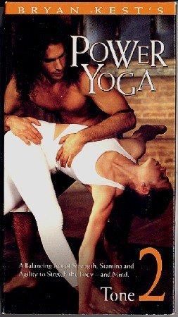 Bryan Kest Power Yoga Intermediate Level 2 Tone Strengthening VHS Exercise Video