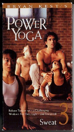 Bryan Kest Power Yoga Intermediate Level 3 Sweat Stretching Advanced Exercise Video VHS Tape