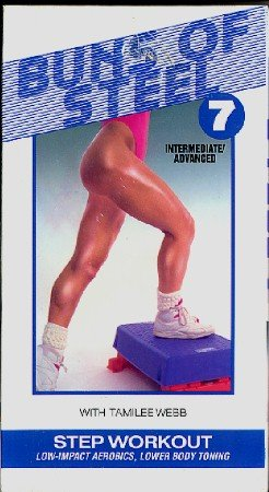 Buns of Steel 7 Step Workout Tamilee Webb VHS Exercise Video NEW