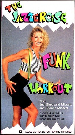 Jazzercise Funk Workout Judi Sheppard Missett VHS Video Exercise Tape