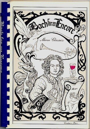 Bach For An Encore Cleveland Orchestra Fundraising Cookbook vintage 1983