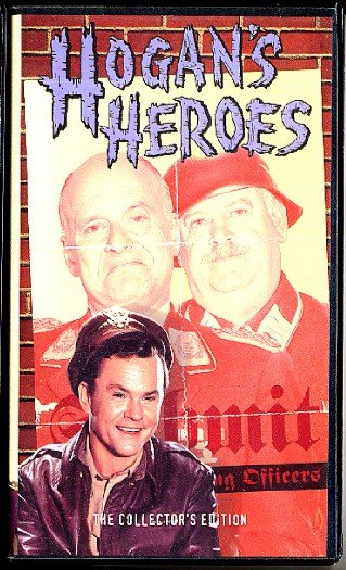 "Hogan's Heroes 4 Episodes Vintage Television Comedy Series VHS Video Tape ""Schultz Knows Nothing"""