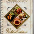 Richard Simmons Deal A Meal Golden Edition Cookbook 1990 low fat diet softcover spiral bound
