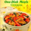 Ideals One-Dish Meals Cookbook Sophie Kay Vintage Casserole Cook Book