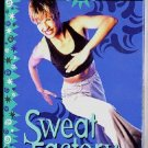 Reebok Sweat Factory Cardio Rhythm Section Aerobic Exercise Workout Video VHS Tape