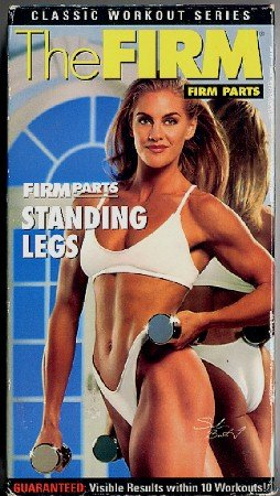 The FIRM Parts Standing Legs Sculpting Toning VHS Exercise Video Tape
