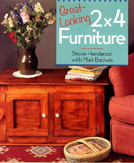 Great looking 2 X 4 Furniture Woodworking Building Craft Book Henderson hc+dj near new