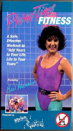 Prime Time Fitness Bev Harris Beginners Seniors Exercise Workout Video VHS