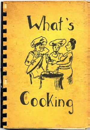Whats Cooking Vintage 1955 Recipes New Mexico Jewish Community Fundraiser Cookbook