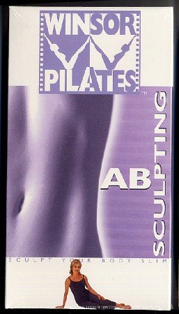 Winsor Pilates Ab Sculpting VHS Exercise Video Tape New