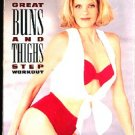 Kathy Smith Great Buns and Thighs Step Workout VHS Exercise Video Tape