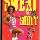 Richard Simmons Sweat and Shout Workout Video Beginners Exercise VHS Tape Classic Pop Dance Music