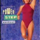 Kathy Smith Power Step Workout VHS Bench Aerobic Exercise Video Tape
