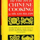 Fine Art of Chinese Cooking Dr Lee Su Jan Vintage 1962 Cookbook hc+dj