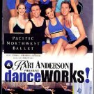 Kari Anderson DanceWorks Dynamic Cardio + Floor Workout VHS Exercise Video